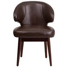 Comfort Back Series Leather Reception Guest Chair