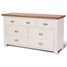 Ascot 7 Drawer Sideboard