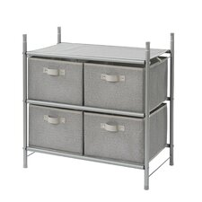 Harmony Twill Stackable 4 Drawer Organizer
