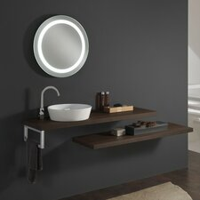 Clever 200cm Wall Mounted Vanity Unit with Mirror and Tap