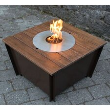 Steel Bioethanol Fire Pit Table