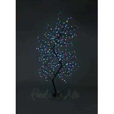 Outdoor Zig Zag Cherry Blossom Tree with LED Fairy Light
