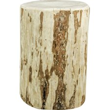 Abordale Cowboy Stump Round End Table