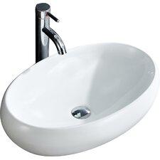 Modern Oval Vessel Bathroom Sink