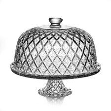 Estelle Crystal Pedestal Plate
