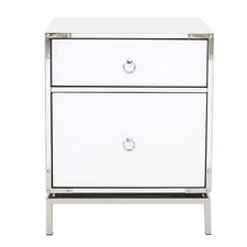 Haider 2-Drawer Side Table