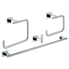 Essentials 4 Piece Bathroom Hardware Set