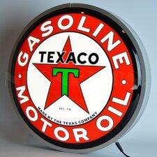 Texaco Motor Oil Backlit LED Lighted Sign