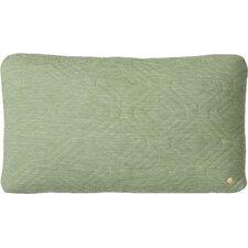 Quilt Zipper Lumbar Pillow