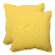 Fresco Indoor Outdoor Throw Pillow (Set of 2)