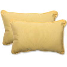Canvas Outdoor Sunbrella Lumbar Pillow (Set of 2)