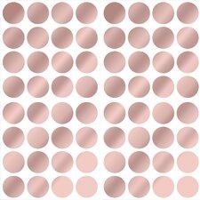Dots Metallic Wall Sticker