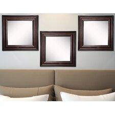 Kavanaugh Square Walnut American Wall Mirror (Set of 3)