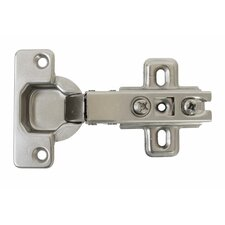 6cm H x 10cm W Self-Closing Single Door Hinge (Set of 4)