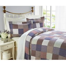 Orlagh Quilted Bedspread Set