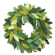 """14"""" Multi Leaves Wreath"""