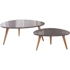 Isabella 2 Piece Coffee Table Set