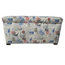 Pavot Fabric Storage Bedroom Bench