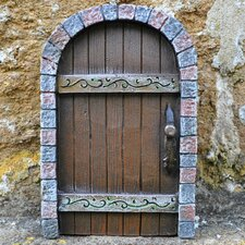 Castle Kingdom Fairy Pixie Elf Stonework Garden Door