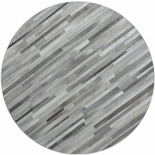 Tuscon Hand-Crafted Grey Area Rug