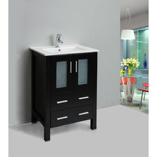 "Vines 24"" Single Bathroom Vanity Set"