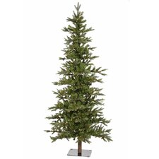 Shawnee Fir 7' Green Alpine Artificial Christmas Tree with 350 Clear Lights with Stand
