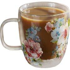 Trefethen Bloom Glass 12 oz. Coffee Cup