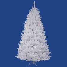Sparkle 8.5' White Spruce Artificial Christmas Tree with 1665