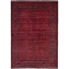 Bouldercombe Hand-Woven Red Area Rug