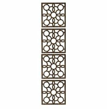 160.04cm x 40.01cm Siam 4 Panel Room Divider (Set of 4)