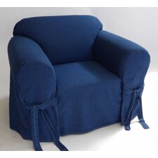 Authentic Armchair Slipcover  by Classic Slipcovers