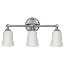 Huguenot Lake 3 Light Vanity Light