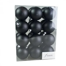 Luxury Shatterproof Ball Ornament (Set of 24)