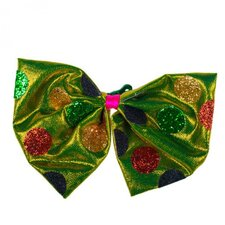 6-tlg. Ornament Retro Bow Tie on Clip