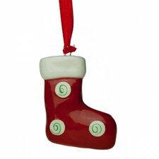 12-tlg. Baumschmuck Christmas Ceramic Stocking