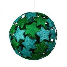 3D Star Ball Ornament (Set of 2)