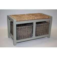 Cavendish Wicker Storage Hallway Bench
