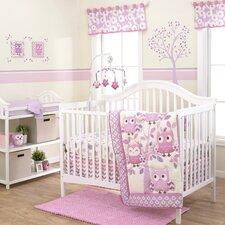 Dancing Owl 3 Piece Crib Bedding Set