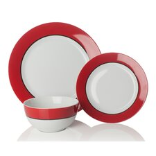 Oslo 12 Piece Dinnerware Set, Service for 4 (Set of 4)