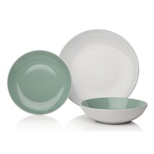 Modern 12 Piece Dinnerware Set, Service for 4 (Set of 4)