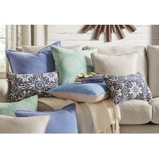 Woodblock Outdoor Lumbar Pillow (Set of 2)