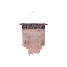 Shaggy and Pile Woven Panel Wall Hanging