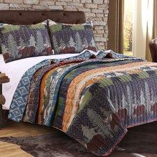 Black Bear Lodge Quilt Set
