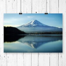 Landscape Mount Fuji Mountain Photographic Print