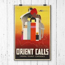 Vintage Orient Calls Travel Vintage Advertisement