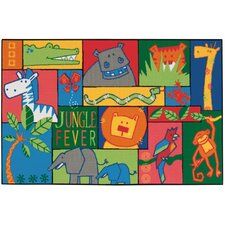 Jungle Fever Kids Area Rug