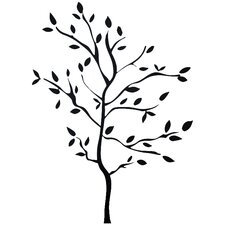 Carlton 60 Piece Tree Branches Wall Decal Set