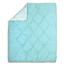 Shell Pintucked Cotton Quilt
