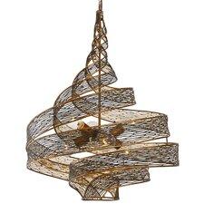 Flow 6-Light Geometric Pendant