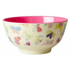 Two Tone Melamine Butterfly Bowl